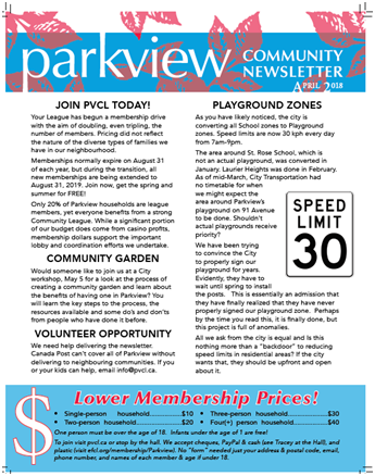 PVCL Newsletter April2018 pg1