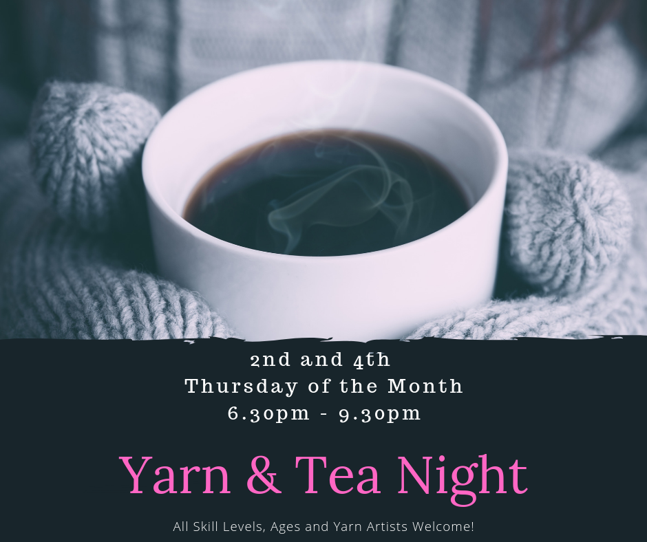 yarn and tea image